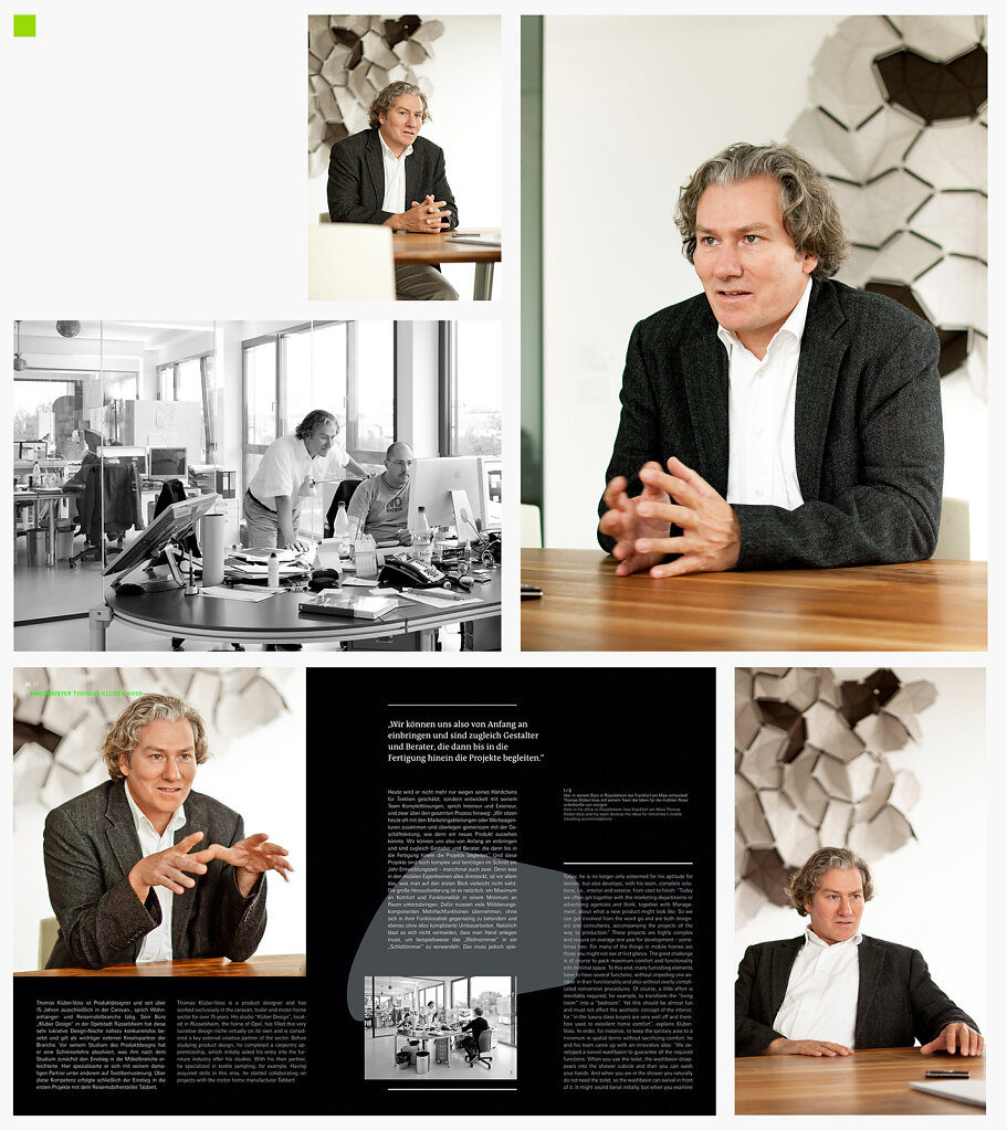 Interview Thomas Klüber-Voss for »Outlook«